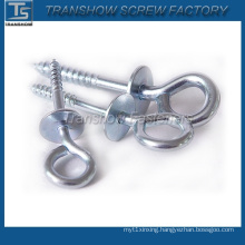 High Quality Zinc Plated Eye Screw with Washer