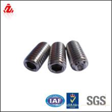 high quality carbon steel black screw din913