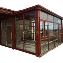 Prefab Modern House Glass Prefabricated Aluminium Sunroom