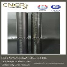 Tube en fibre de carbone 3K, tube en carbone de 30 mm de long, finition brillante et mate disponible
