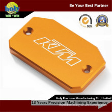 CNC Machining Anodized Aluminum Plate with Laser Engraving