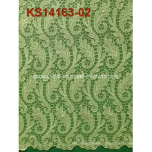 New Arrival High Quality African Cord Lace Fabrics for Dress