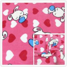 Cartoon Anti-Pilling Polar Fleece 100% Polyester FDY 150d/96f Knitting Fleece, for Textile, Garment.