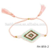 graines à la main en gros stocks de perles bijoux de mauvais œil