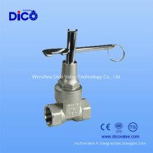 Vanne de porte à aimant en acier inoxydable (Z15W-16P)