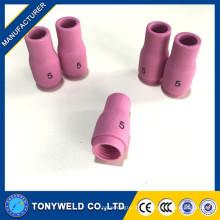 WP9 / WP20 TIG Torch peças bocal de cerâmica de argônio 13n09