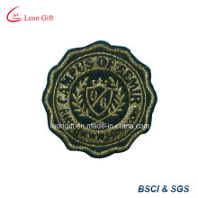 Custom Embroideried Patch Gold Thread Embroidery Badge