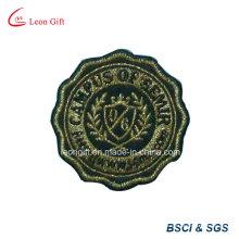 Пользовательские Embroideried патч Золотая нить значок вышивки