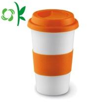Benutzerdefinierte Cup-Hülle aus Silikon für Reisebecher