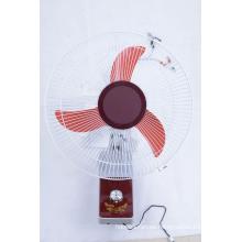 """18"""" DC12V pared Solar de la pared ventilador"""