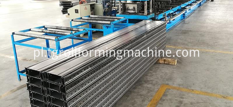 Automatic Cable Tray Roll Forming Machine