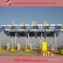 High Standard Hot Sale Steel Roof Truss Toll Station for 2017