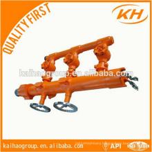 API 7-1 standard oil drilling pipe cement head