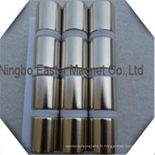 Aimant de néodyme cylindre Mortor aimant N52
