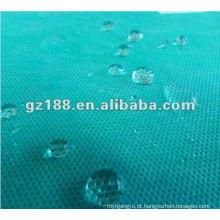 (Spunbond + meltblown + spunbond) tecidos não tecidos (anti-álcool, anti-sangue, anti-óleo)