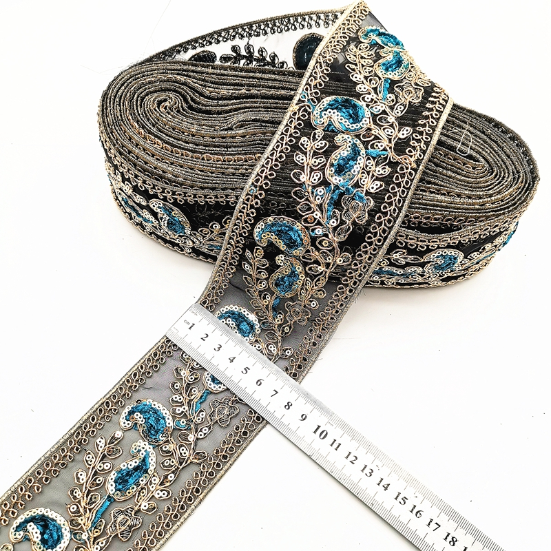 Sequin Embroidery Ribbon