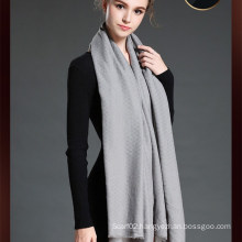 Newest Style Women Big Scarf with Colour Grey
