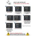 HP3809-R Dual Heating Plates Hydraulic Rosin Dab Press Machine com pressão de 20 toneladas