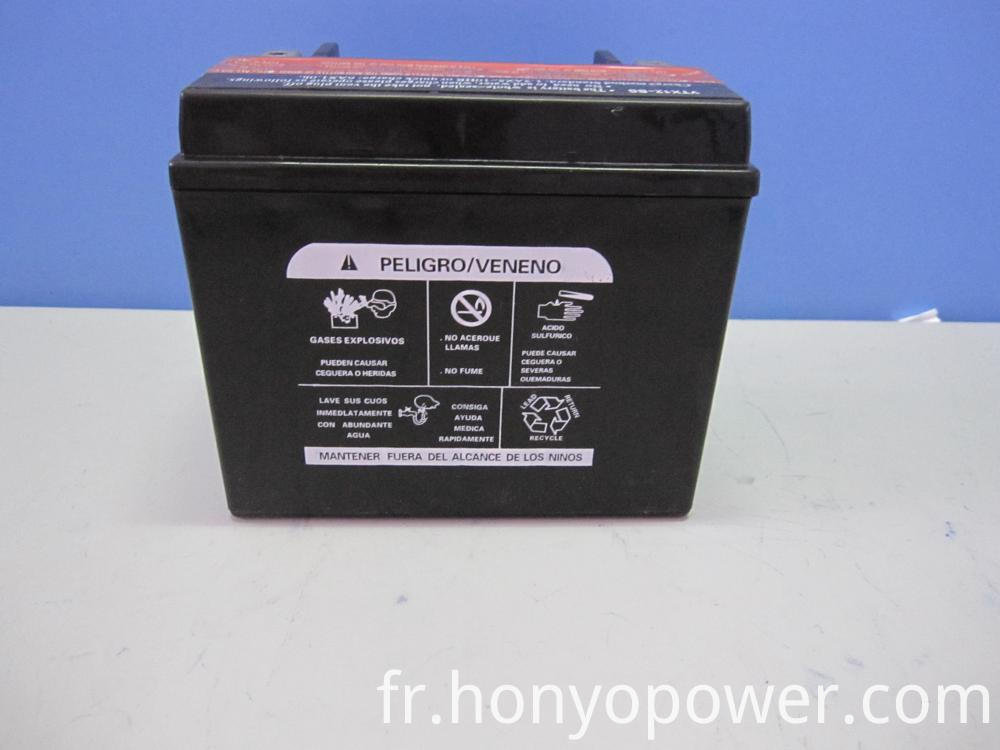 MF Motorcycle Batteries YTX12-BS
