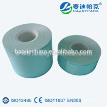 Sellado de rollo de carrete de esterilización de película de papel térmico