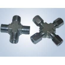 Conexiones de tubo de mordida tipo rosca métrica Reemplace las conexiones Parker y las conexiones Eaton (conexiones transversales)