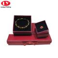 caja de regalo conjunto joyas pulsera anillo collar caja