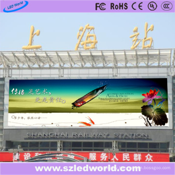 6mm Pixel Pitch Outdoor Display Panel LED for Train Station