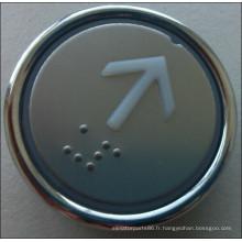 Ascenseur/Lift Round Push Button, commutateur de bouton d'ascenseur (MDL-7)