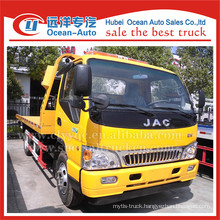 JAC 4x2 3TON lifting weight tow truck for sale