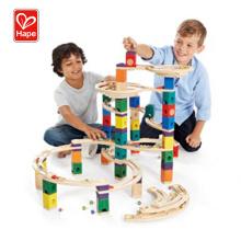 Hape New Kids Educational Toys Wooden Marble Run Wood,Marble Run Wood