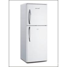 Refrigerador frigorífico de montaje superior con doble puerta y compresor
