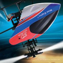 Neun Eagles 3D 2.4GHz 6CH RC Hubschrauber mit Gyro