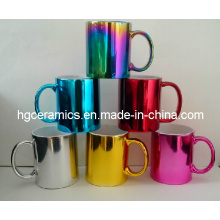 Tasse en céramique électrolytique, tasse métallique
