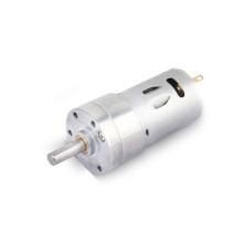 Motores de engranajes helicoidales cepillados de 24 voltios CC de 12 V para dispensador de spray y cajero automático