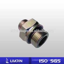 Metrischer O-Ring-Dichtungs-Rohranschluß-Hydrauliknippel (1EH) aus verzinktem Kohlenstoffstahl