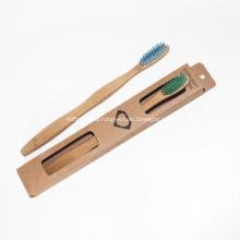 BPA Free Soft Bristles Environmental Bamboo Toothbrush