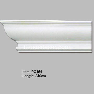 Cornice decorativa in poliuretano