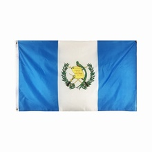 Großhandel benutzerdefinierte Guatemala Flagge Polyester Banner