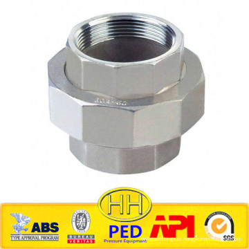 ANSI B31.1 aço inoxidável 316 união roscada fêmea