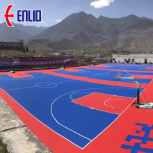 Basketballplatz Fliesen FIBA ​​Approved Sports Flooring