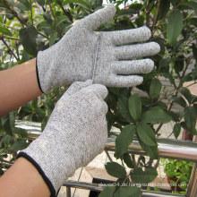 Schneiden Sie widerstandsfähige Handschuhe Küche Lebensmittelindustrie Handschuhe Arbeitshandschuh