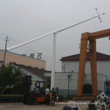 customized mid-hinged light pole folding street light pole with factory price