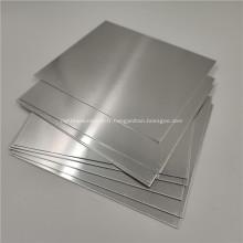 5052 Plaque de tôle d'aluminium fini en usine 4x8