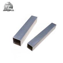 Acabamento anodizado cor prata 1 x 1 tubo de alumínio 2x2 t6 6061