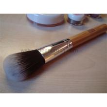 High-End bambu lidar com cabelos cabelos escova cosméticos escova em pó