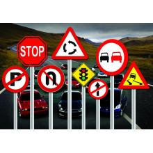 Изготовленные на заказ доски дорожных знаков предупреждающие знаки безопасности дорожного движения