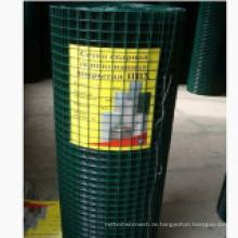 PVC beschichtetes quadratisches geschweißtes Drahtgeflecht