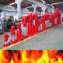 Pompes de lutte contre l'incendie à plusieurs degrés en acier inoubliable dans le monde entier