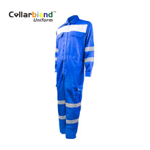 Blue Reflective Work Cloth FR Safety Overall