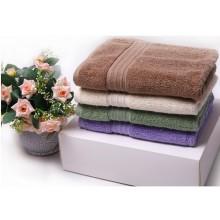 100%cotton colored hometextile towel set